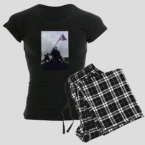 Iwo Jima Memorial Women's Dark Pajamas
