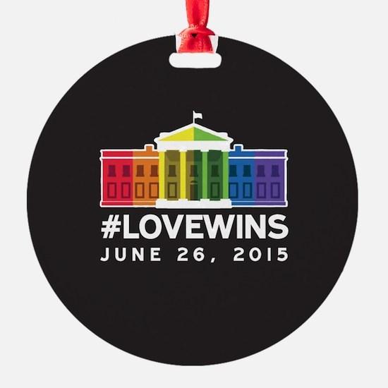 #LoveWins Ornament