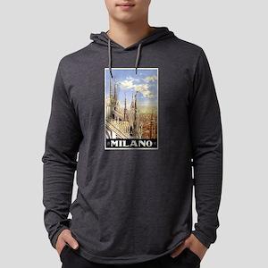 Milano Italia Mens Hooded Shirt