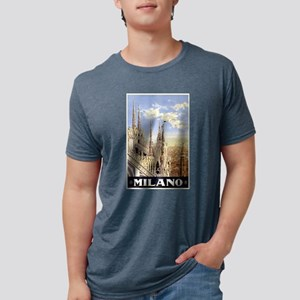 Milano Italia Mens Tri-blend T-Shirt