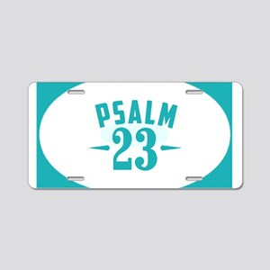 Psalm 23 Lord is my Shepher Aluminum License Plate