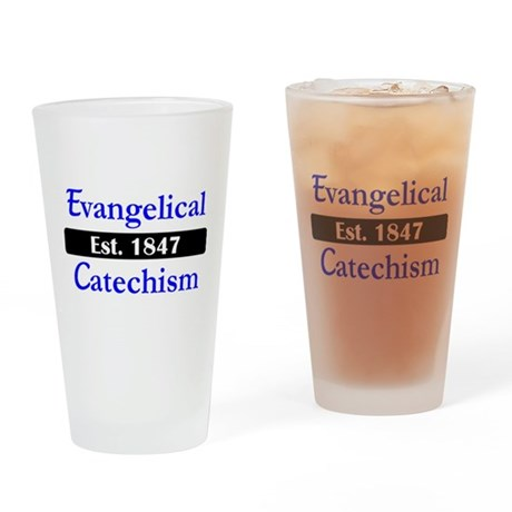 Evangelical Catechism 1847 Drinking Glass