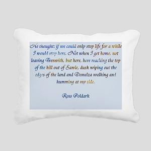 Ross Poldark Rectangular Canvas Pillow