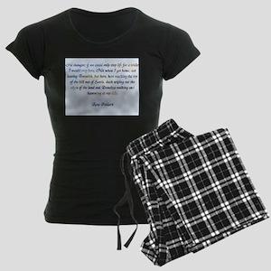 Ross Poldark Women's Dark Pajamas