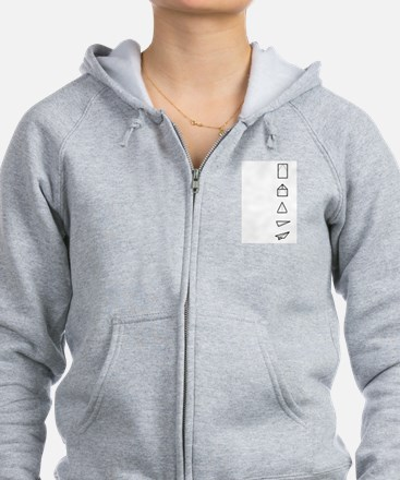 Instructions Included Zip Hoodie