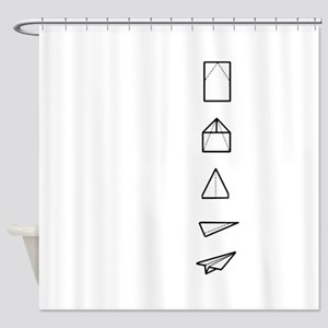 Instructions Included Shower Curtain