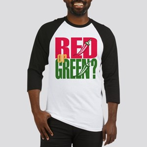 Red or Green? Baseball Jersey