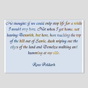 Ross Poldark Postcards (Package of 8)