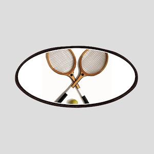 tennis rackets , sports, ballgames, Patch