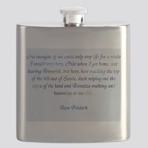 Ross Poldark Flask