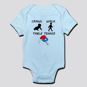 Crawl Walk Table Tennis Body Suit