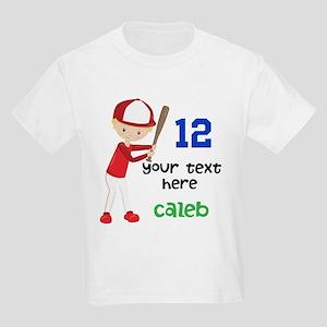 Baseball Custom Kids Light T-Shirt