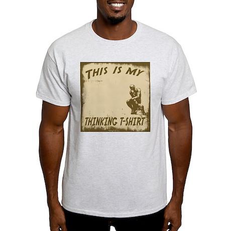 My Thinking T-Shirt Light T-Shirt