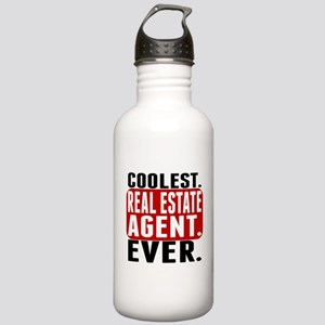 Coolest. Real Estate Agent. Ever. Water Bottle