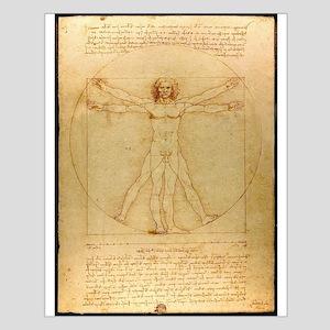 Leonardo Da Vinci Vitruvian Man Posters