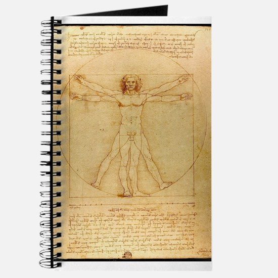 Leonardo Da Vinci Vitruvian Man Journal