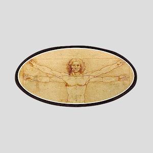 Leonardo Da Vinci Vitruvian Man Patch
