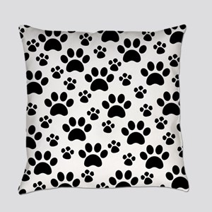 Dog Paws Everyday Pillow