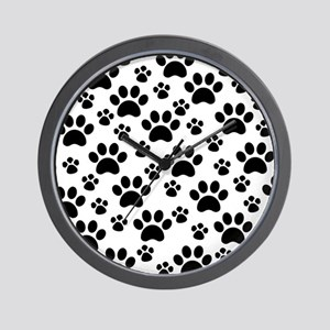 Dog Paws Wall Clock