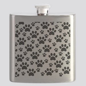 Dog Paws Flask