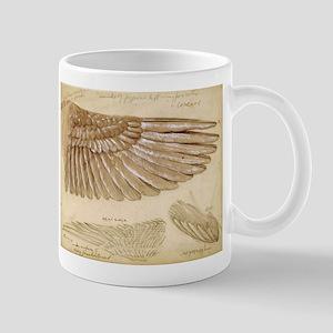 Leonardo Da Vinci Study of wings Mugs