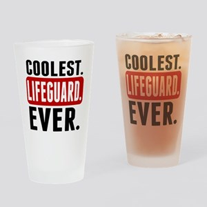 Coolest. Lifeguard. Ever. Drinking Glass