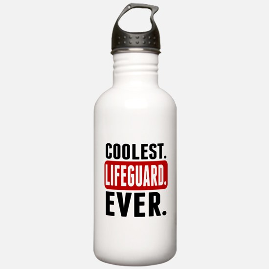 Coolest. Lifeguard. Ever. Water Bottle