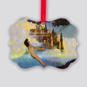 Dinky Bird by Maxfield Parrish Picture Ornament