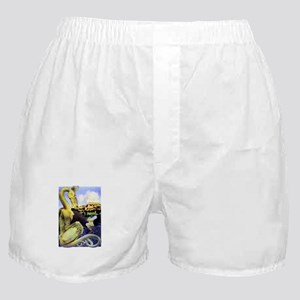 The Reluctant Dragon by Maxfield Parr Boxer Shorts