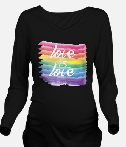 Cute Marriage equality Long Sleeve Maternity T-Shirt