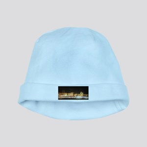Denver Night Lights baby hat