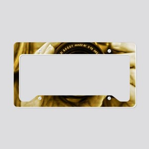 Photographer License Plate Holder