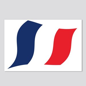 Tricolour Postcards (Package of 8)