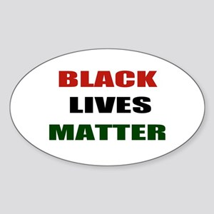 Black lives matter 2 Sticker (Oval)