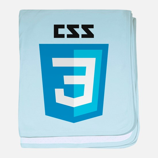 CSS3 Logo baby blanket