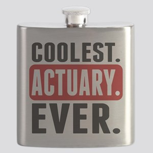 Coolest. Actuary. Ever. Flask