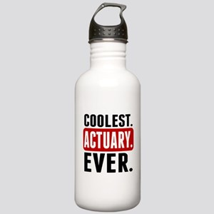 Coolest. Actuary. Ever. Water Bottle