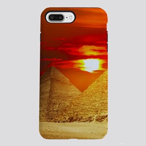 Egyptian Pyramids At Su iPhone 8/7 Plus Tough Case