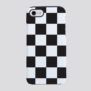 Black And White Checkered iPhone 8/7 Tough Case