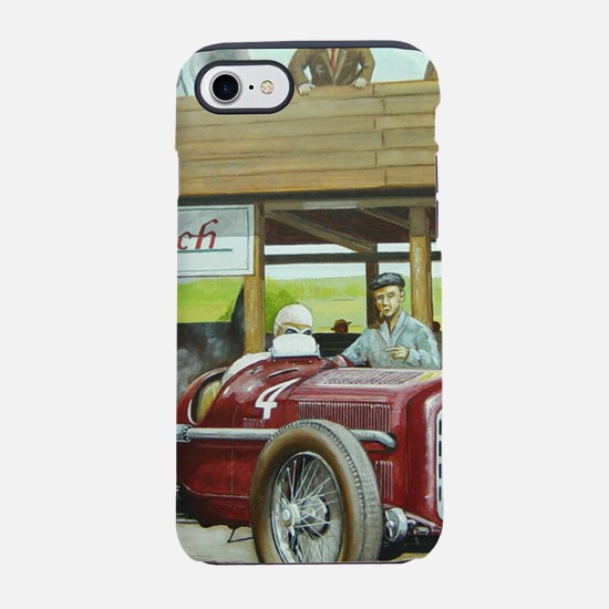 Vintage Car Racing iPhone 8/7 Tough Case