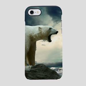 Polar Bear Roaring iPhone 8/7 Tough Case