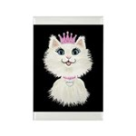 Cartoon Cat Princess ( Rectangle Magnet (100 pack)