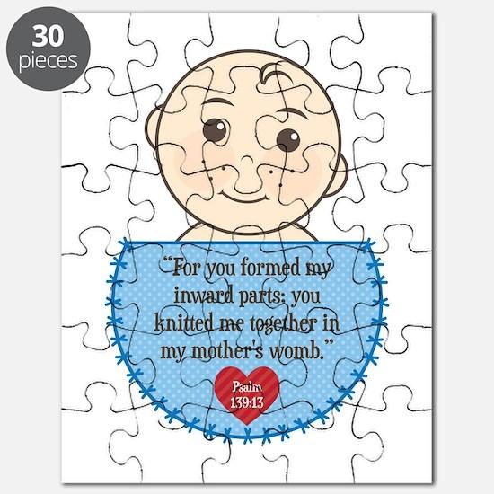 Pro-Life Psalm 139:13 Puzzle