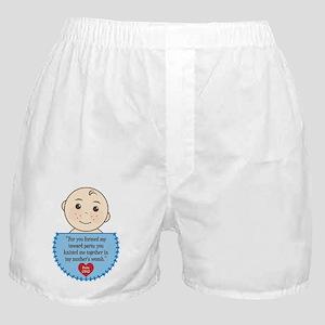 Pro-Life Psalm 139:13 Boxer Shorts