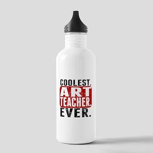 Coolest. Art Teacher. Ever. Water Bottle