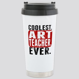 Coolest. Art Teacher. Ever. Travel Mug