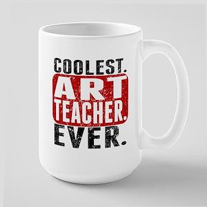 Coolest. Art Teacher. Ever. Mugs