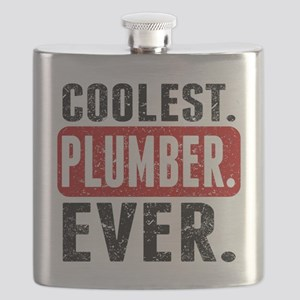 Coolest. Plumber. Ever. Flask