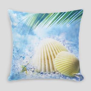 Summer Shell Everyday Pillow