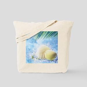Summer Shell Tote Bag